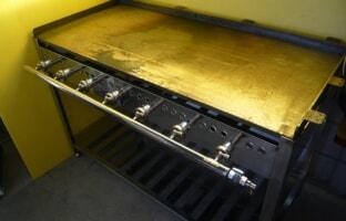 業務用鉄板焼き台グリドル
