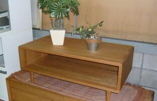 組木・無垢材使用 センターテーブル
