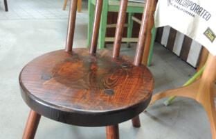 『指物工房』 矢澤金太郎 丸椅子