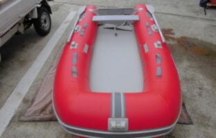 JOYクラフトのゴムボート